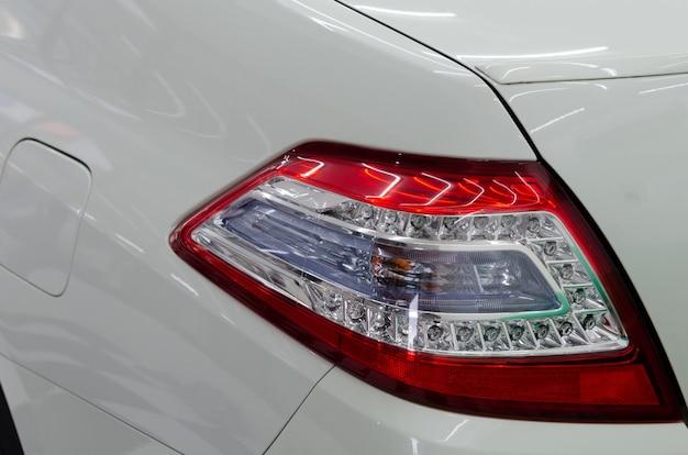 Luxusauto rücklichter