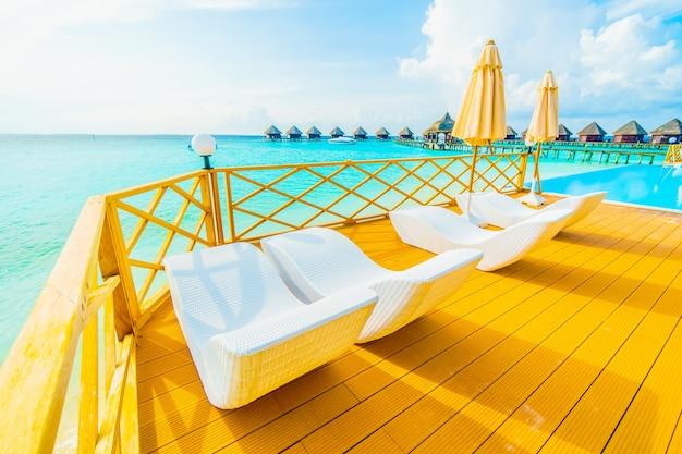 Luxushotel wasser resort karibik