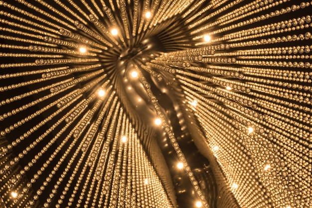 Luxuxleuchter-lichtmusterhintergrund