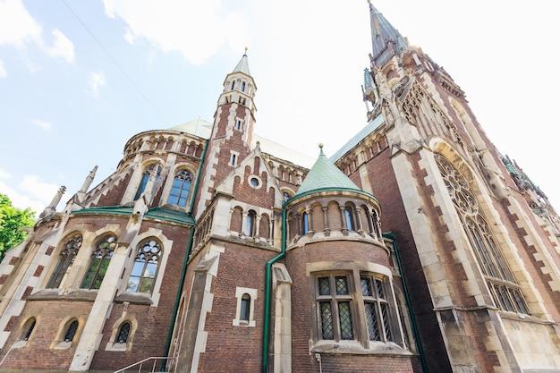 Lviv ukraine 26. mai 2018 kirche der heiligen olga und elisabeth