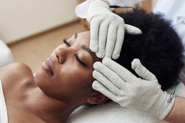 Lymphdrainage-massage.