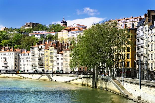 Lyon-ansichtflußpromenade
