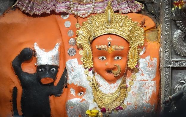 Maa mansa devi-tempel, devi-statue in haridwar-bildern