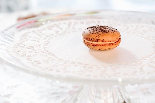 Macarons französisches gebäck