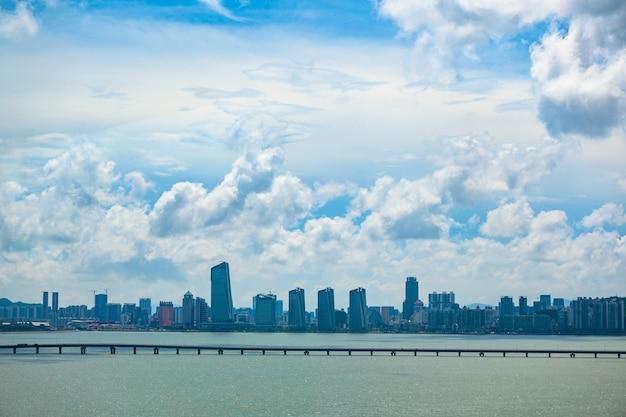 Macau-brücke, die längste brücke asiens