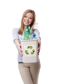 Mach mit und beginne mit dem recycling