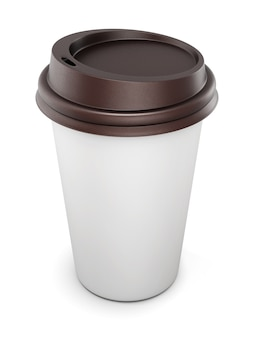Machen sie sich ein bild von ihren design-einwegbechern für kaffee mit deckel