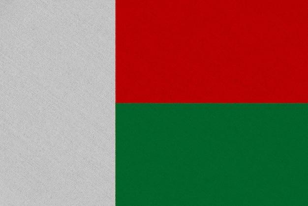 Madagaskar stoffflagge