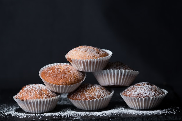 Madeleines cupcakes