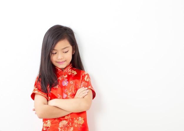 Mädchen chinesisches neujahrsfest 2019