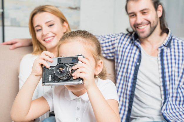 Mädchen fotografieren