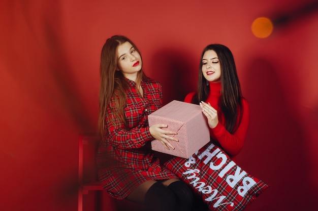 Mädchen mit box