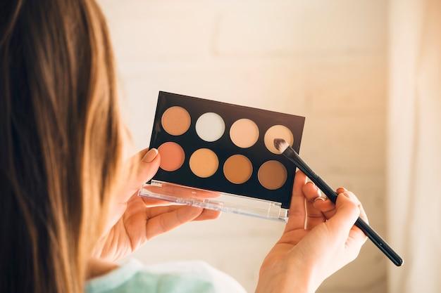 Mädchen mit make up