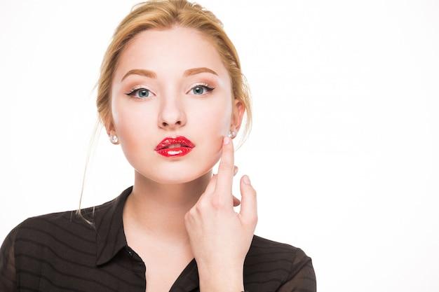 Mädchen mit make-up