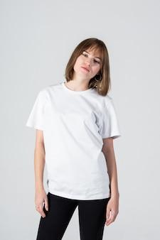 Mädchen modell studio schönheitsfoto