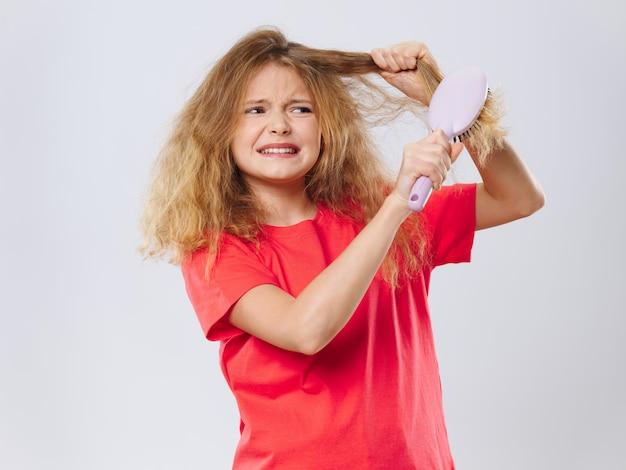 Mädchen posiert porträt