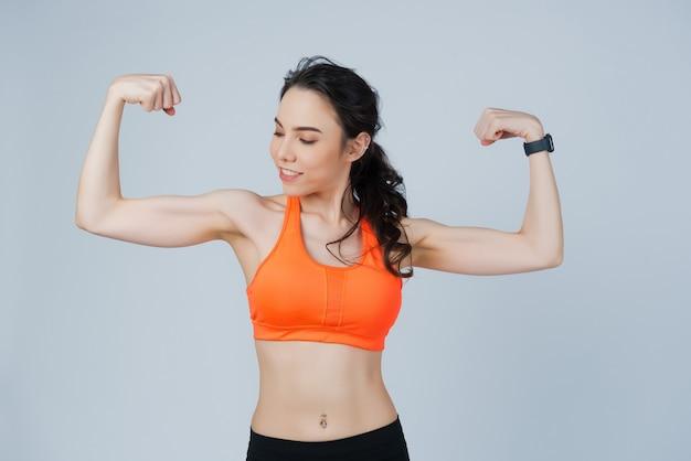 Mädchen übung, sport mädchen, frau training
