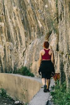 Mädchenweg bei los cahorros, granda, spanien