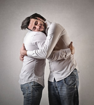 Männerfreundschaft und unterstützung