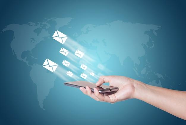 Männlich close icon technologie mail