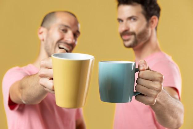 Männliche beste freunde porträt friends