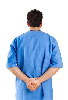 Männliche krankenschwester