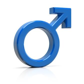 Männliches symbol