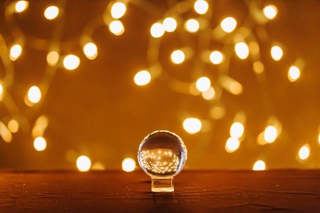 Magic ball und lichterketten