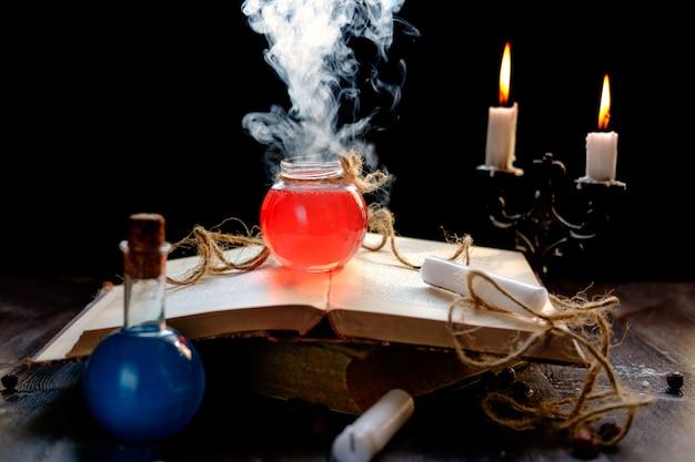 Magie- und zauberkonzept.