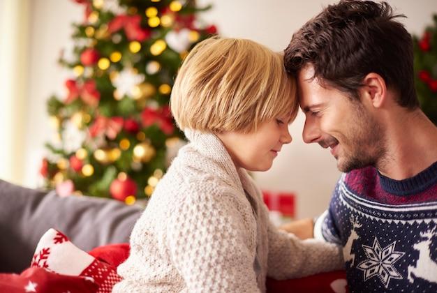 Magische momente zu weihnachten