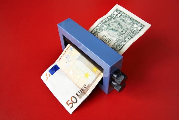 Magischer geldwechsel