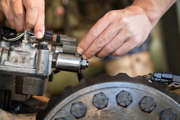 Magnetventil des getriebesteuerventils bulldozer traktor
