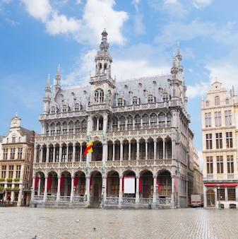 Maison du roi bei tag, brüssel, belgien