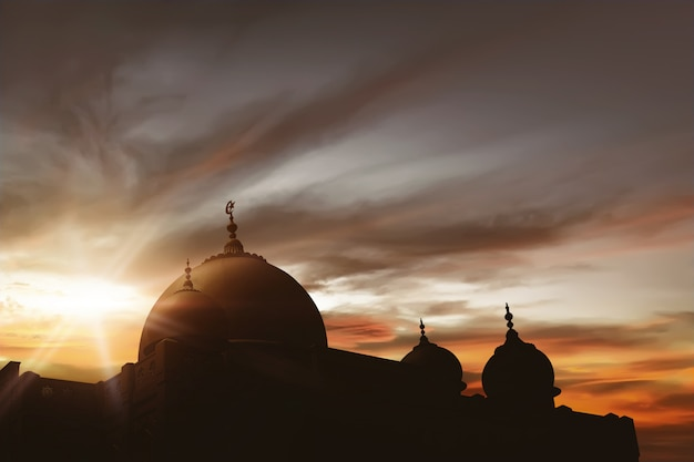 Majestätische moschee