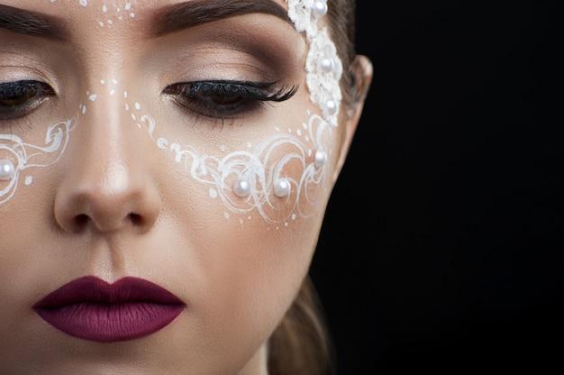 Make-up beauty-aufnahmen