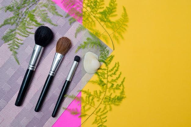 Make-up pinsel, schönheit
