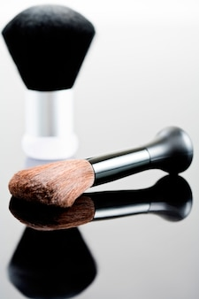 Make-up pinsel und puder