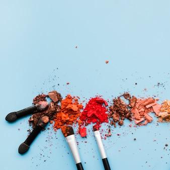 Makeup-pulver