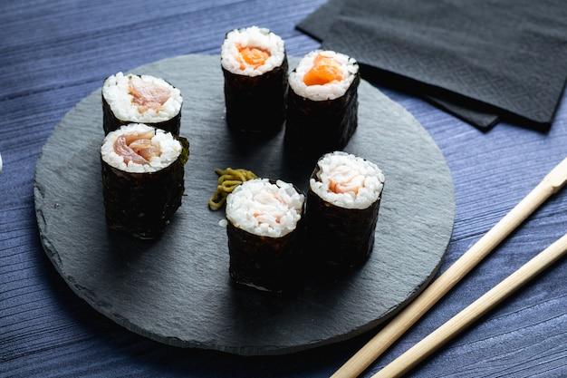 Makis über japanisches restaurant