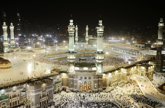 Makkah kaaba minarette