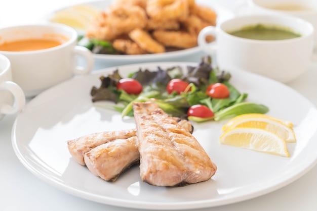 Makrelen fisch steak