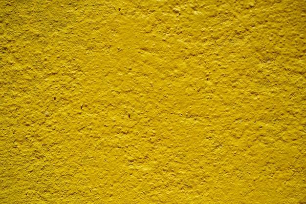 Makro wand detail gelb lackiert