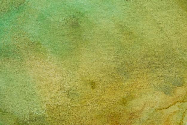Makrobeschaffenheitshintergrund des kakifarbigen abstrakten aquarells