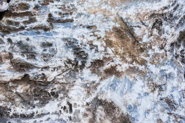 Makroschuß des steinhintergrundes