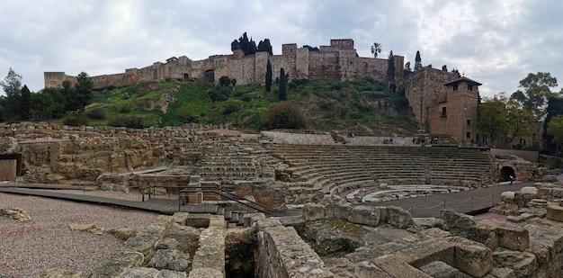 Malaga spanien 27. februar 2021 blick auf den jamon store auf den straßen von malaga