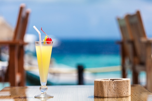 Malediven, reisen, urlaub, cocktail