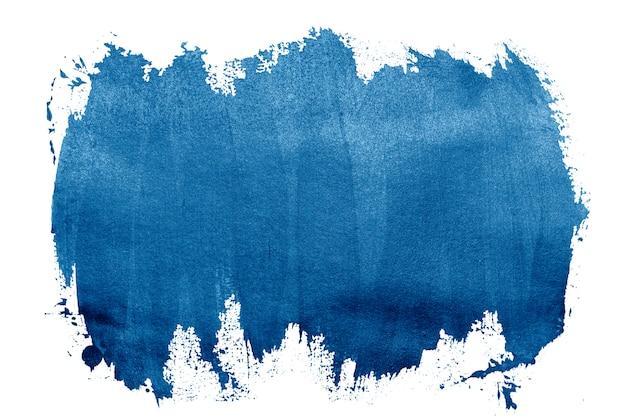 Malen sie blaue striche pinselstrich farbtextur