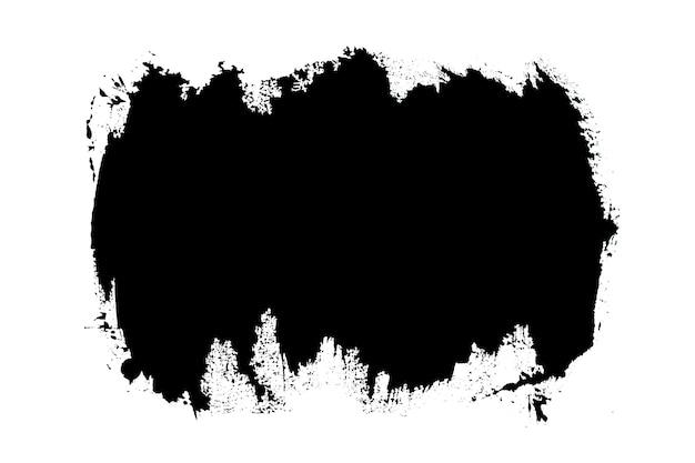 Malen sie schwarze striche pinselstrich-farbtextur mit platz für ihren eigenen text