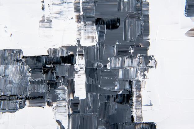 Malen sie textur hintergrundbild, schwarze abstrakte kunst in acrylfarbe