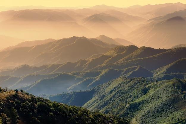 Malerische berglandschaft.